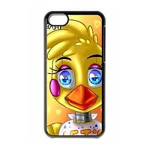 iPhone 5C Phone Case Black Five nights at Freddy's UYUI6803290