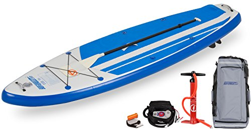 NEW Sea Eagle HB96 Hybrid 9'6 Inflatable SUP Electric Pump Package