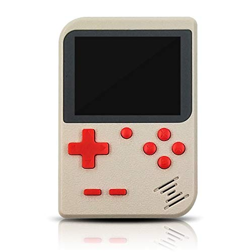 LJ2 Retro Games Console, Handheld Game Console(Can Play on Tv) Support Duet Mode 2.8 Inch Screen Support Chinese and English for Kids Gift,B