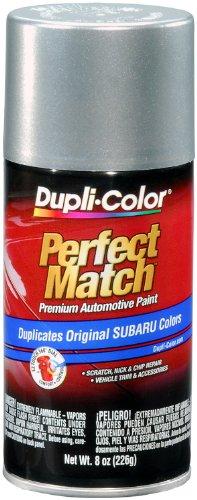 Dupli-Color EBSU13457 Quick Silver Metallic Subaru Perfect Match Automotive Paint - 8 oz. (Silver Aerosol)