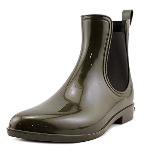 INC International Concepts Womens Rubiee Round Toe Ankle Rainboots Olive