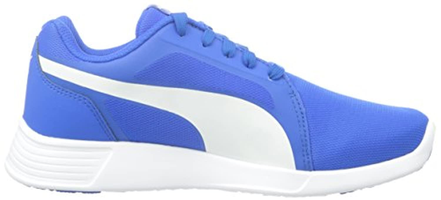 Puma Unisex Kids' St Trainer Evo Low-Top Sneakers blue Size: 3 UK