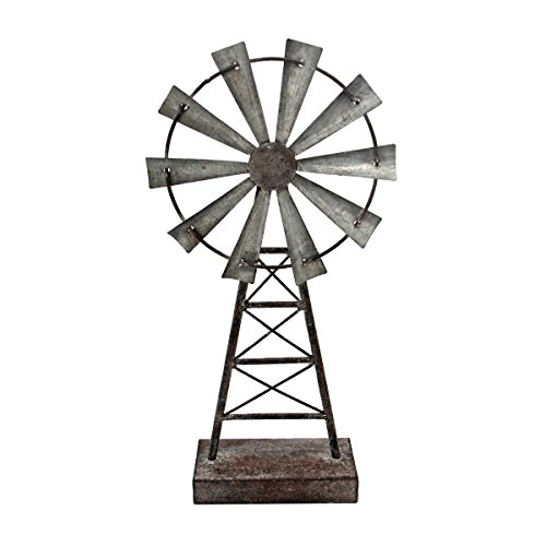 - Foreside Home & Garden Foreside Small Windmill Table Décor,