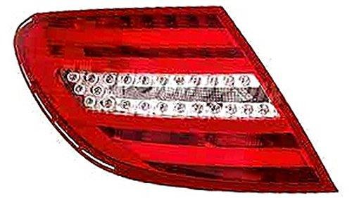 10- sin portal/ámparas Blanco Rojo Led Piloto Trasero Izquierdo MB W204 C Class Sedan 4P