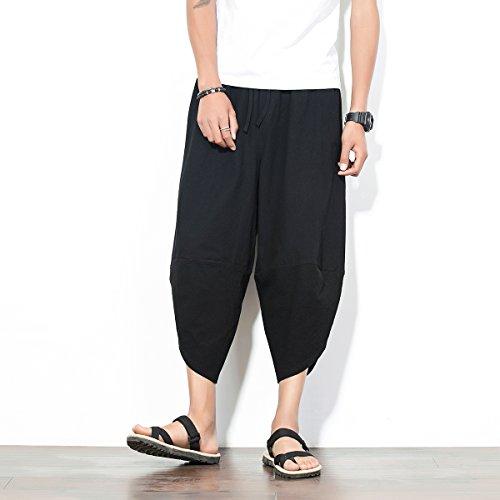 Black Harem Mirecoo Pantaloni Uomo Mirecoo Pantaloni Sw8ZnqFqx