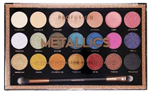 Metallic Palette (Profusion Cosmetics 21 Shade Eyeshadow Palette ~ Metallics)
