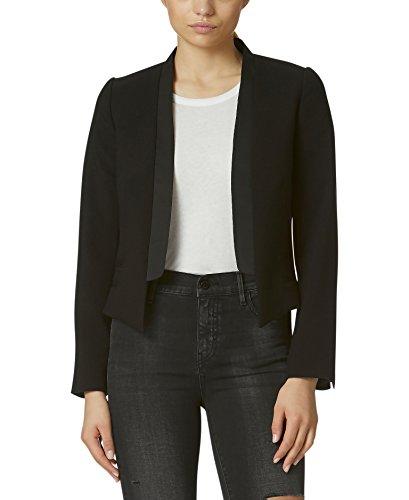 Nice Avec Les Filles Joyce Azria Cropped Tuxedo Blazer (Black) supplier