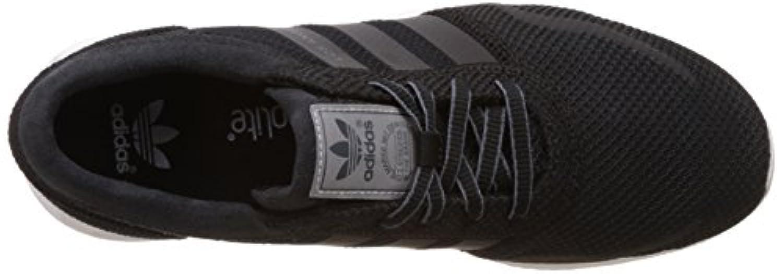 Adidas Unisex Kids Los Angeles Trainers, Black (Core Black/Core Black/Ftwr White), 1 Child UK 33 EU