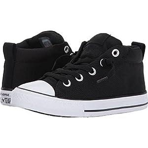 Converse Kids Chuck Taylor All Star Street Basket Weave Mid (Little Kid/Big Kid) Boy's School Shoes