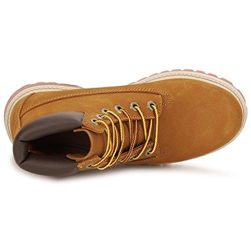 Timberland - Premium Boot - Mixte Junior Mittel-braun aVoXQDZ