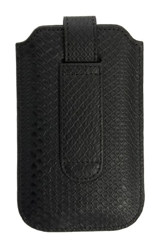 Commander 12304 Black Series Case für Apple iPhone 3G/3GS/4/4S Größe M Snake schwarz