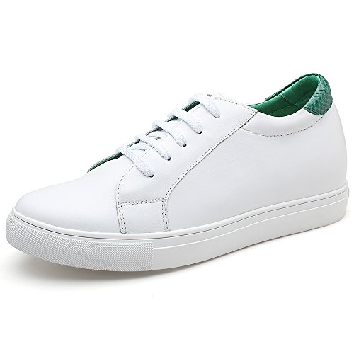 Sneakers Uomo Plus Chamaripa Verde H72c55k121d Shoes Cm Raising 6 Casual Lacer Leather qAX4Rw