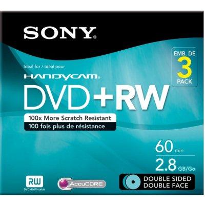 Sony 3Dpw60dsr2hc 2.8Gb Camcorder Double-Sided Dvd-Rw by Sony