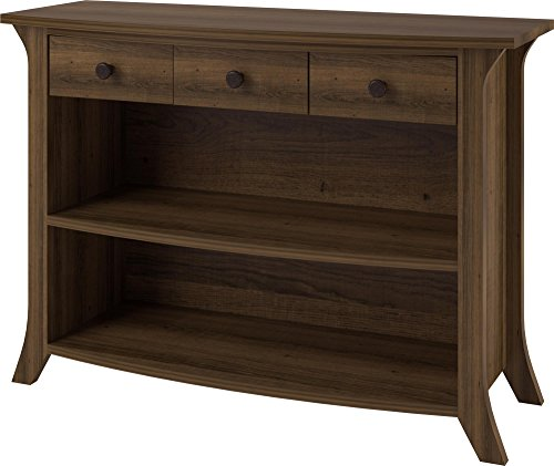 Ameriwood Home Oakridge Anywhere Storage Console, Brown Oak ()