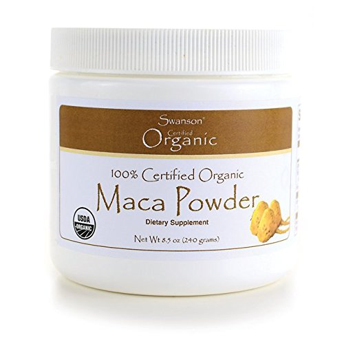 Swanson 100% Certified Organic Maca Powder 8.5 Ounce (240 g) Pwdr Review