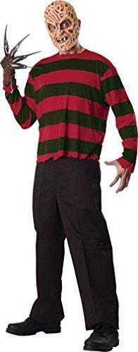 Rubbies - Disfraz de Freddy Kruger para hombre, talla XL (888434)