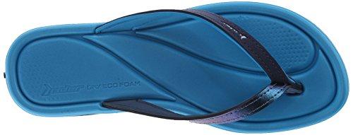 Rider Women's Plush III Flip Flop Blue/Blue 9qPpNVdS2