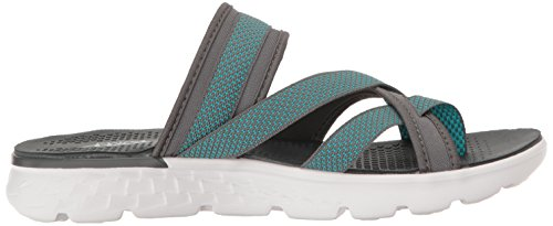 Go Charcoal Discover Performance Flip Skechers 400 The Women's On qO6wIA