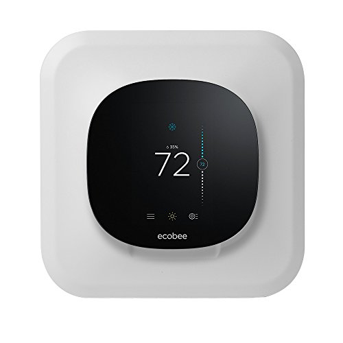 2 Lite Wall (Wall Plate Cover Mount for Ecobee3 lite Smart Thermostat 2nd Gen, ABS, White)