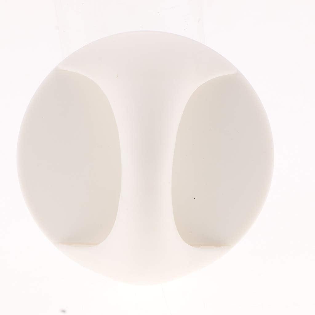 F Fityle PACK 2 Pi/èces Rond Adh/ésif Poign/ée Poign/ée Bouton Pour Armoire Placard Fen/être Tiroir Porte Coulissante blanc