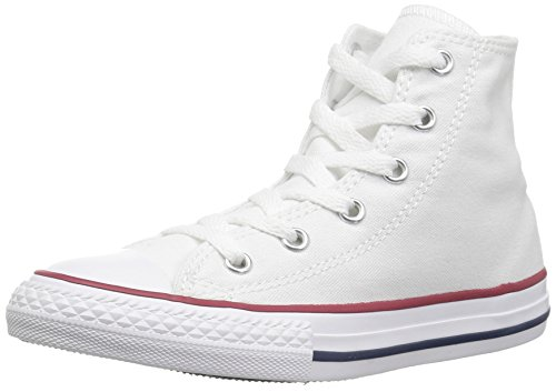 Converse  Chuck Taylor All Star High Top Shoe, Optical White, 3 M US (White All Star For Girls Shoes)
