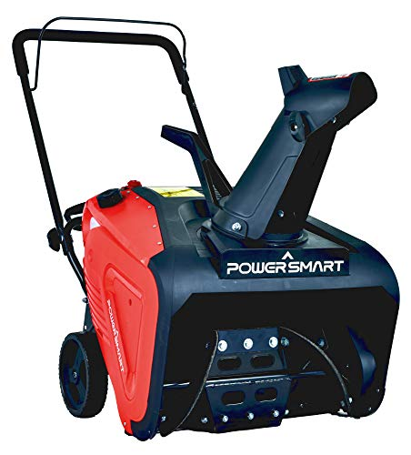 PowerSmart PSS1210M 21 inch Single Stage Gas Snow Blower (Snow Blower Gas Powered)