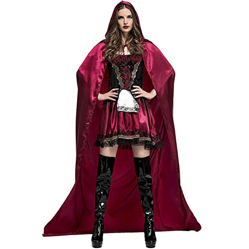 Albabara Women's Little Red Riding Hood Halloween Cosplay
