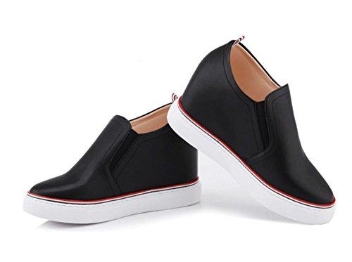 les Mme cuir printemps chaussures en mis Mme et chaussures de lautomne 5 UK3 5 chaussures sport CN35 dascenseur simples pieds US5 Mme chaussures EU35 pPaqww
