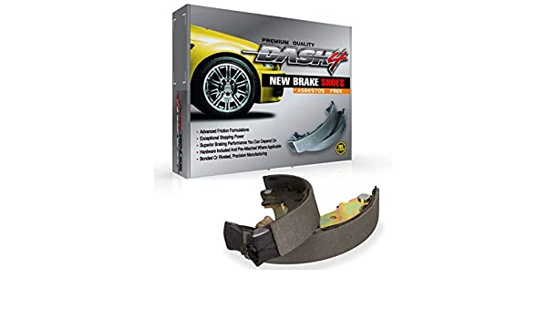 Dash4 B488 Bonded Style Brake Shoes