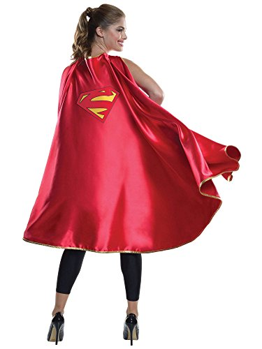 Rubie's Women's DC Superheroes Deluxe Supergirl Cape, Multi, One -