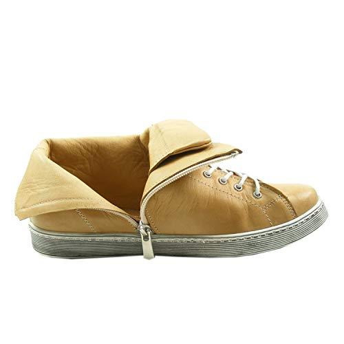 Andrea Para 0341500 Mujer Altas Zapatillas Conti Marrón qwfrq4g