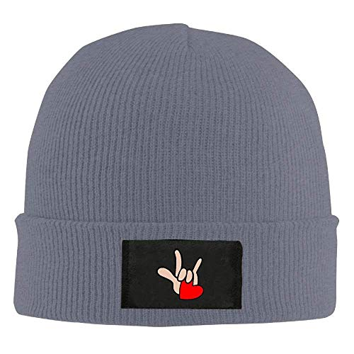 You NDJHEH Winter Adult Language Love Sign Warm Beanies ASL Cap Hat American béisbol Hat Gorras Knit I ww8Tqpgr