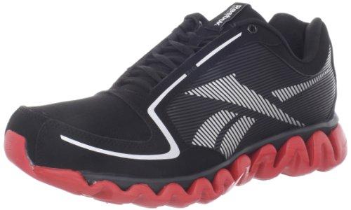 UPC 886407025590, Reebok Men's Ziglite Running Shoe,Black/Silver/Red,9.5 M US