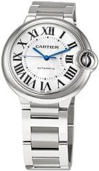 """Cartier Unisex W6920046 """"Ballon Bleu"""" Stainless Steel Automatic Watch"""