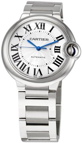 Cartier Unisex W6920046 ''Ballon Bleu'' Stainless Steel Automatic Watch by Cartier