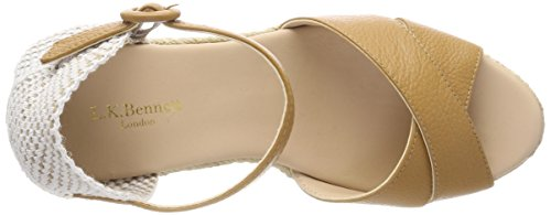 Lk Bennett Angele Espadrillas Donna Marrone bro-tan
