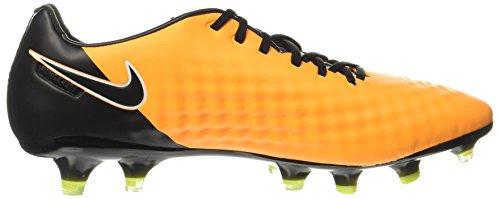 NIKE Herren Magista Opus II FG Fußballschuh (Laser Orange, Schwarz)