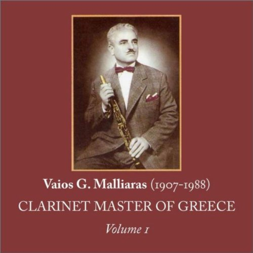 Vaios G. Malliaras (1907-1988) [Clarinet Master of for sale  Delivered anywhere in USA