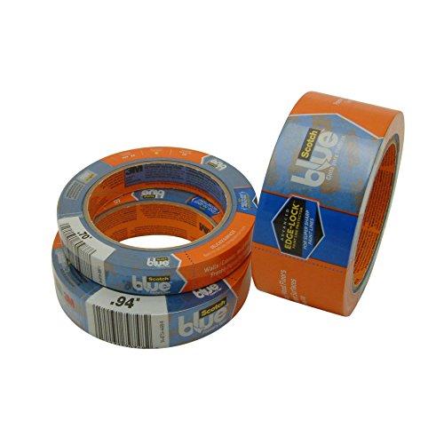 60 yd Length x 3//4 Width Blue 3M Scotch 3M 2080EL-18E Scotch 2080 Safe-Release Painters Masking Tape