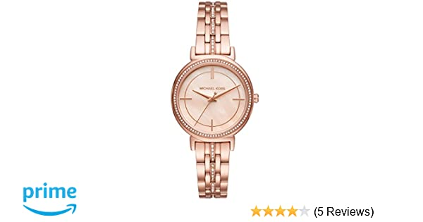 3ca91c42a6d1 Amazon.com  Michael Kors Women s Cinthia Rose Gold-Tone Watch MK3643   Watches
