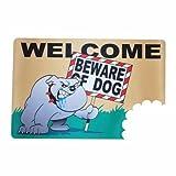 BigMouth Inc Beware of The Dog Wacky Welcome Doormat