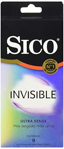 Sico Condones Ultra Sense, Cartera de 9