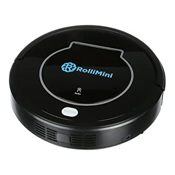 ROLLIBOT MINI BL100 – Quiet Robotic Vacuum Cleaner. Robot Vacuum and Sweeper for Hard Surfaces