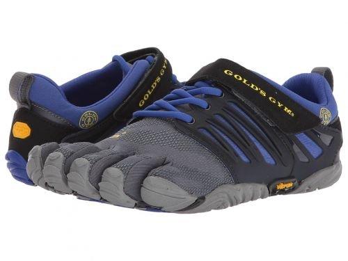 合金シンプルさ値Vibram FiveFingers(ヴィブラム) レディース 女性用 シューズ 靴 スニーカー 運動靴 V-Train Gold's Gym - Black/Grey/Reflex Blue [並行輸入品]