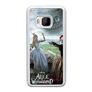 HTC One M9 Cell Phone Case White Alice in Wonderland ST1YL6722499
