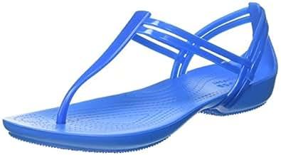 Crocs 202467, Sandalias Mujer, Azul (Blue), 36-37 EU