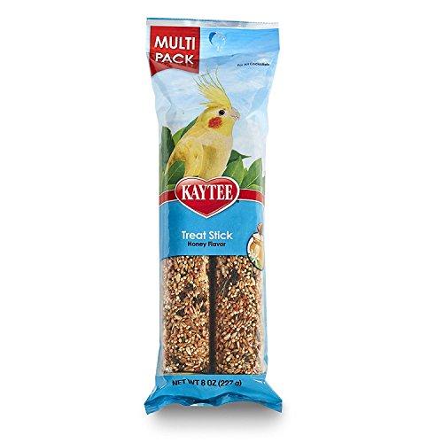 Kaytee Forti-Diet Pro Health Cockatiel Honey Treat Stick Value Pack, 8-oz 3 Pack