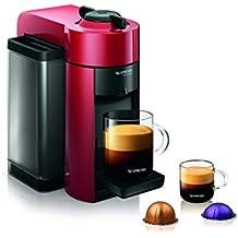 Nespresso GCC1-US-RE-NE VertuoLine Evoluo Coffee and Espresso Maker, Red (Discontinued Model)