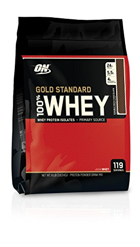 Optimum Nutrition 100% Whey Gold Standard Protein Bar, Double Rich Chocolate, 8 Pound
