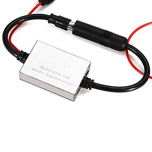 - ANT - 208 V5 Radio Signal Amplifier Antenna Booster 25dB Gain Metal Case